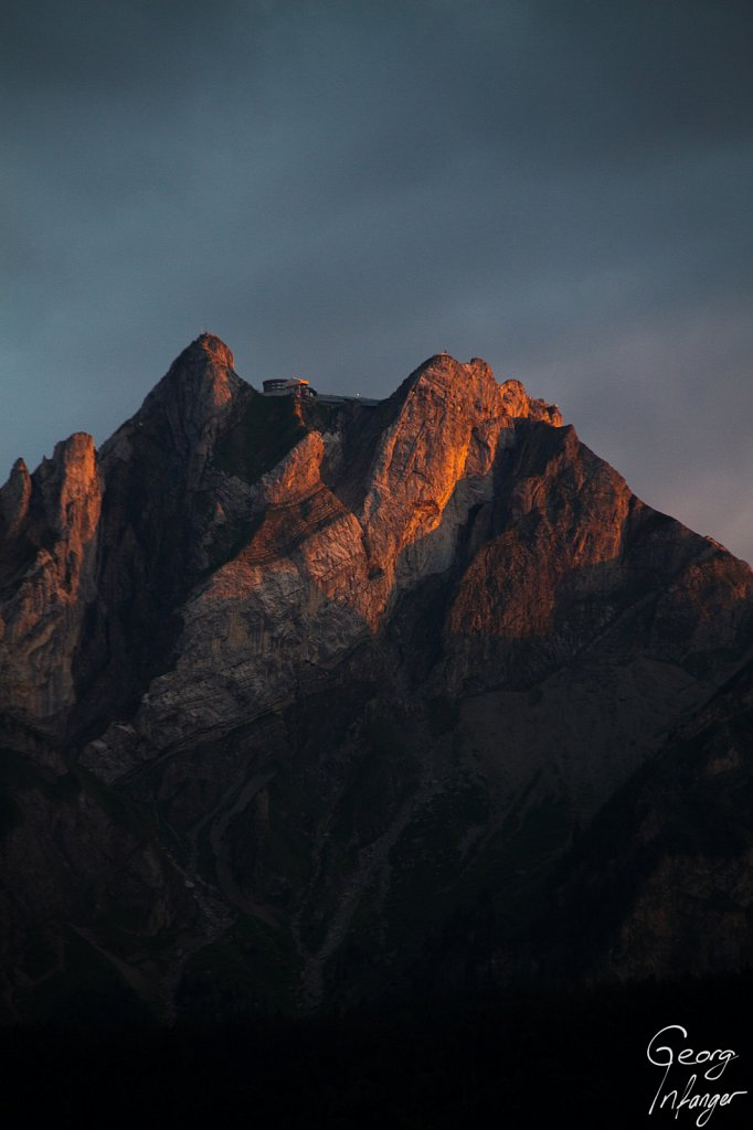 Mt. Pilatus in sunset light -