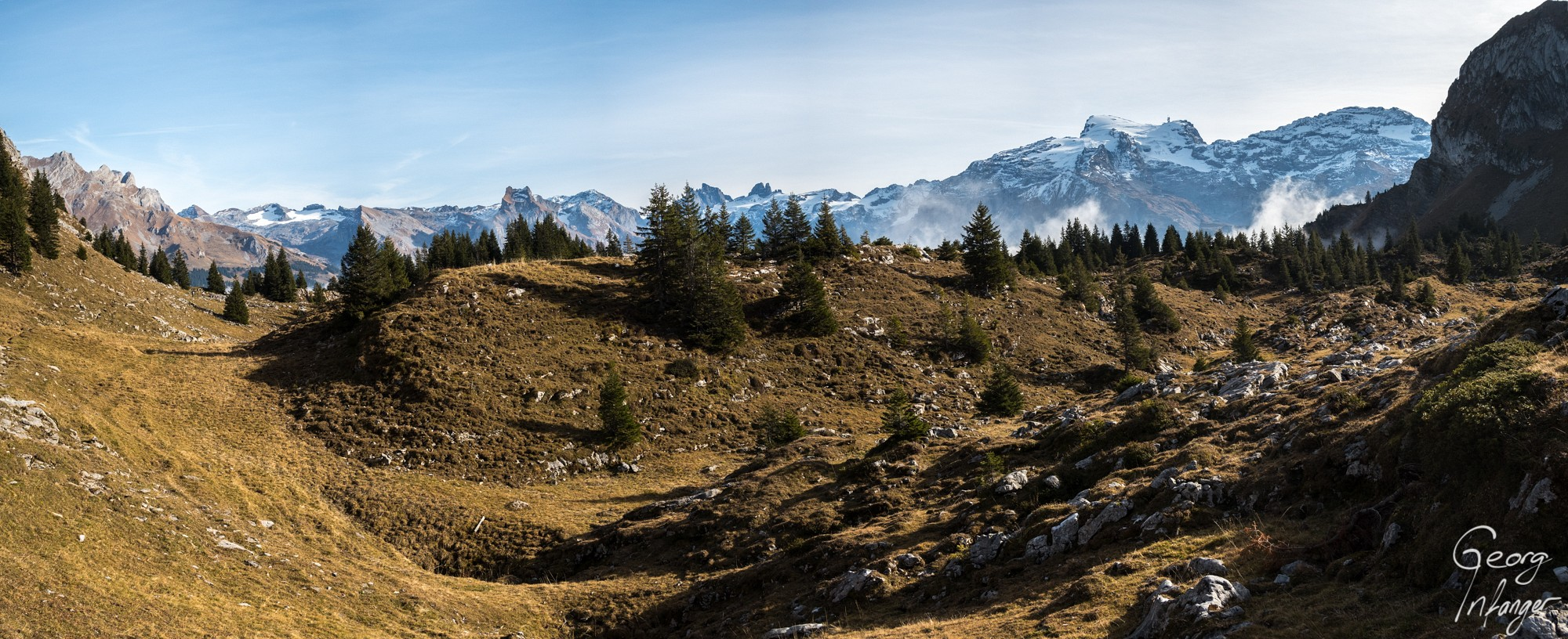 Panorama from Lutersee-